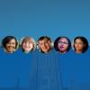 From left: Sherilynn Black, Sally Kornbluth, Scott Huettel, Adriane Lentz-Smith, Nimmi Ramanujam.